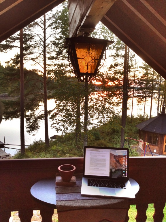 It's amazing that I managed to get any work done while in Finland. ;)